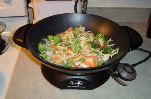 breville electric gourmet wok